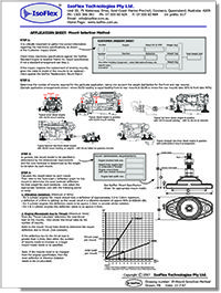 Isoflex Worksheet Mount Selection Method AUS Cvr